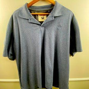 2 for 15! blue wrangler men's polo shirt